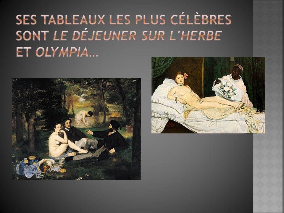  Ces peintures étaient controversés et ils ont soulevé des questions sur les rôles des femmes dans la société.