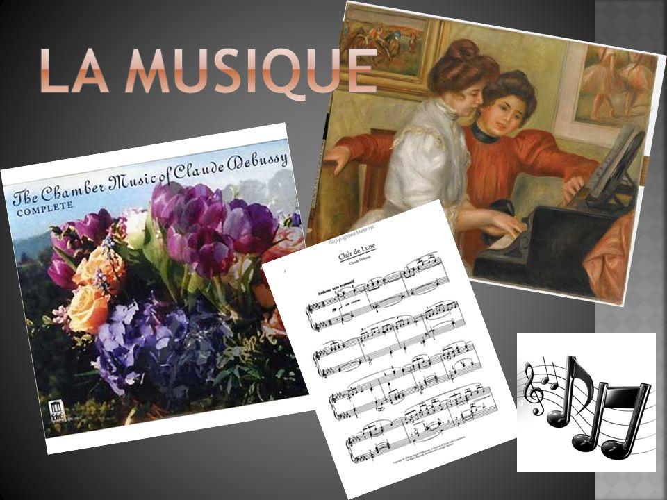  Né en 1862, mort en 1918  Il était un compositeur impressionniste.