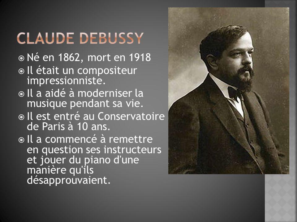 Manet et Debussy avaient des approches similaires à la créativité.