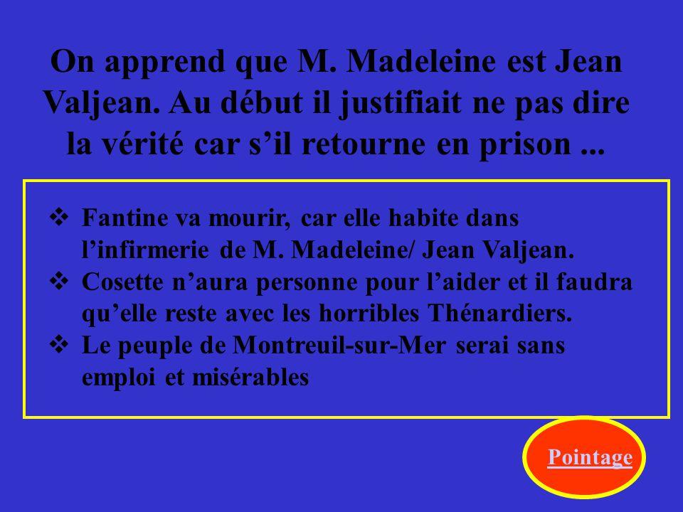 Pourquoi est-ce que Javert a écrit une lettre au directeur de police à Paris.