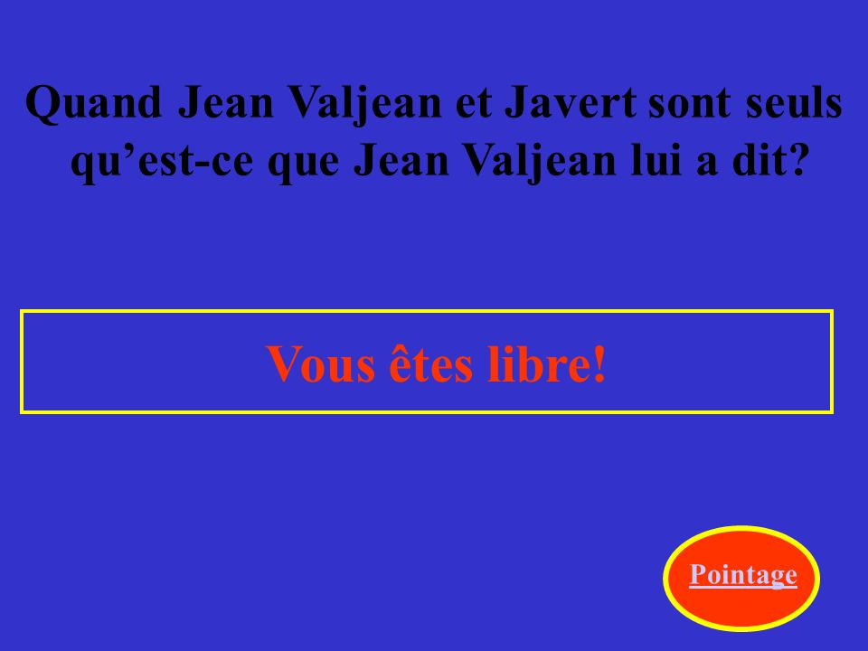 Pendant le combat quel est la réaction de Jean Valjean envers Marius.