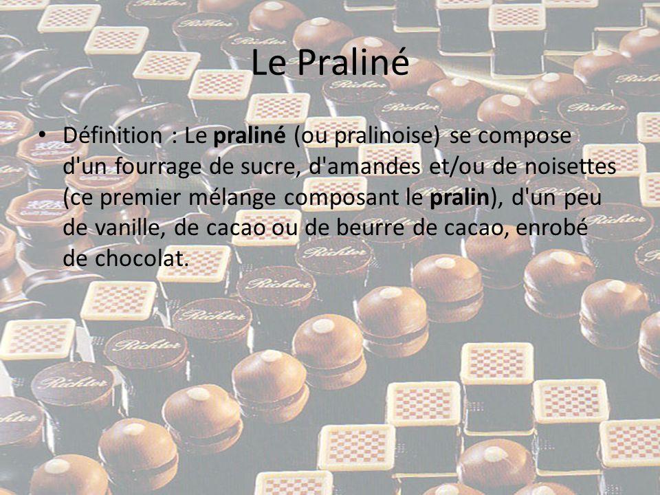 Le Praliné • Etymologie :