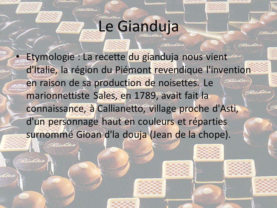 Le Gianduja • Ce personnage et son pseudonyme allaient inspirer une marionnette à Sales et le personnage allait peu à peu devenir l un des symboles de Turin.