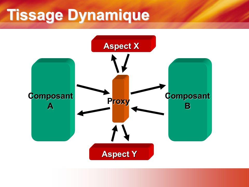 Tissage Dynamique Aspect Y Aspect X ComposantAComposantB Proxy