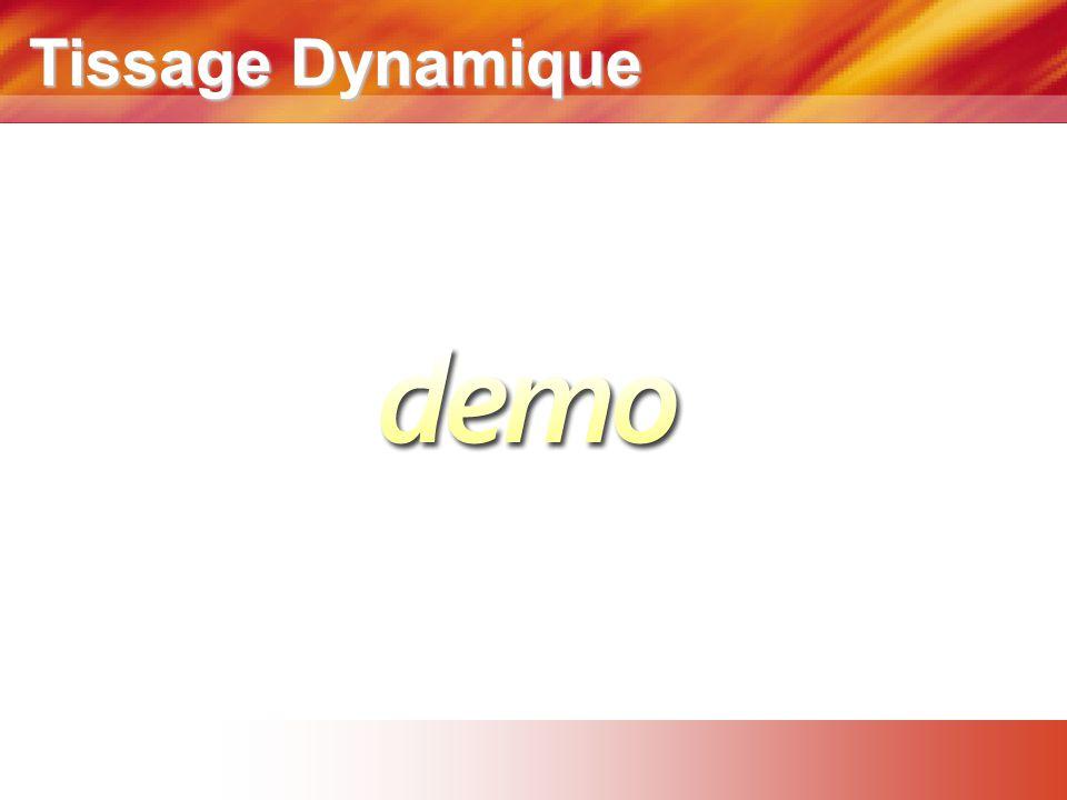 Tissage Dynamique