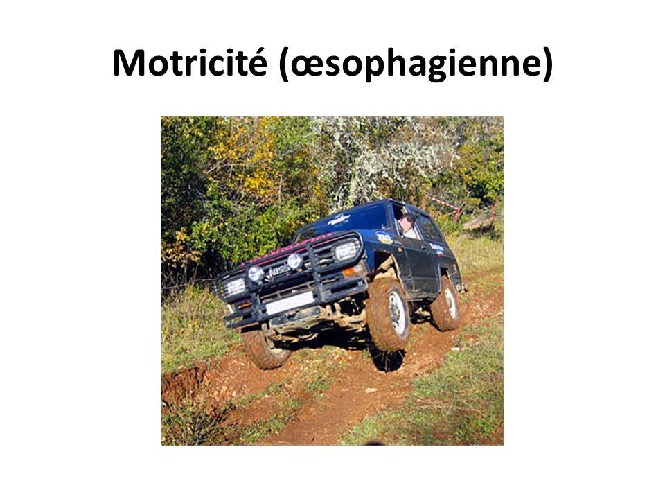 Motricité (œsophagienne)