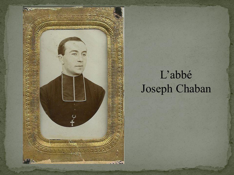 L'abbé Joseph Chaban