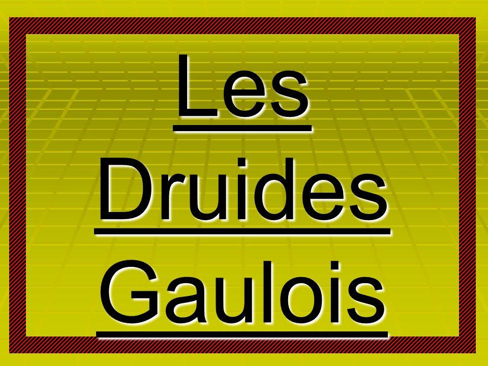 Les Druides Gaulois