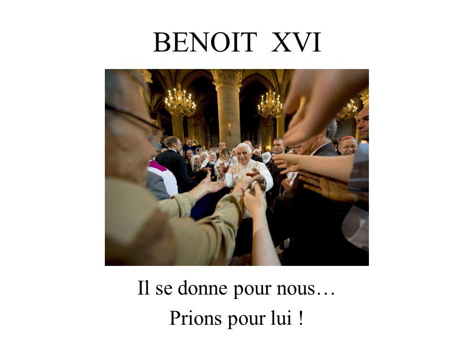 19 avril 2005 Election de Joseph Ratzinger « Chers frères et chères sœurs, après le grand pape Jean-Paul II, Messieurs les cardinaux m'ont élu, moi, un simple et humble travailleur de la vigne du Seigneur.