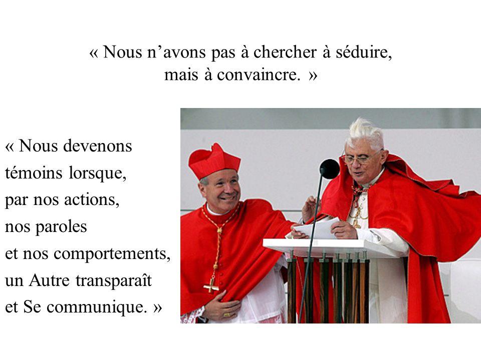 « L'Eglise est la famille de Dieu dans le monde.