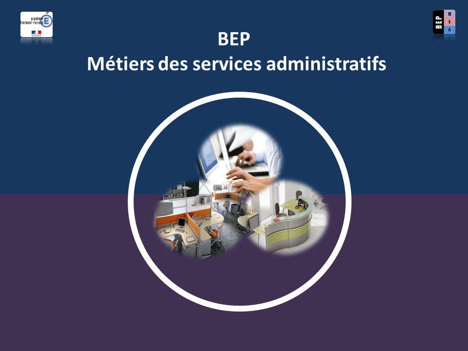 BEP Métiers des services administratifs
