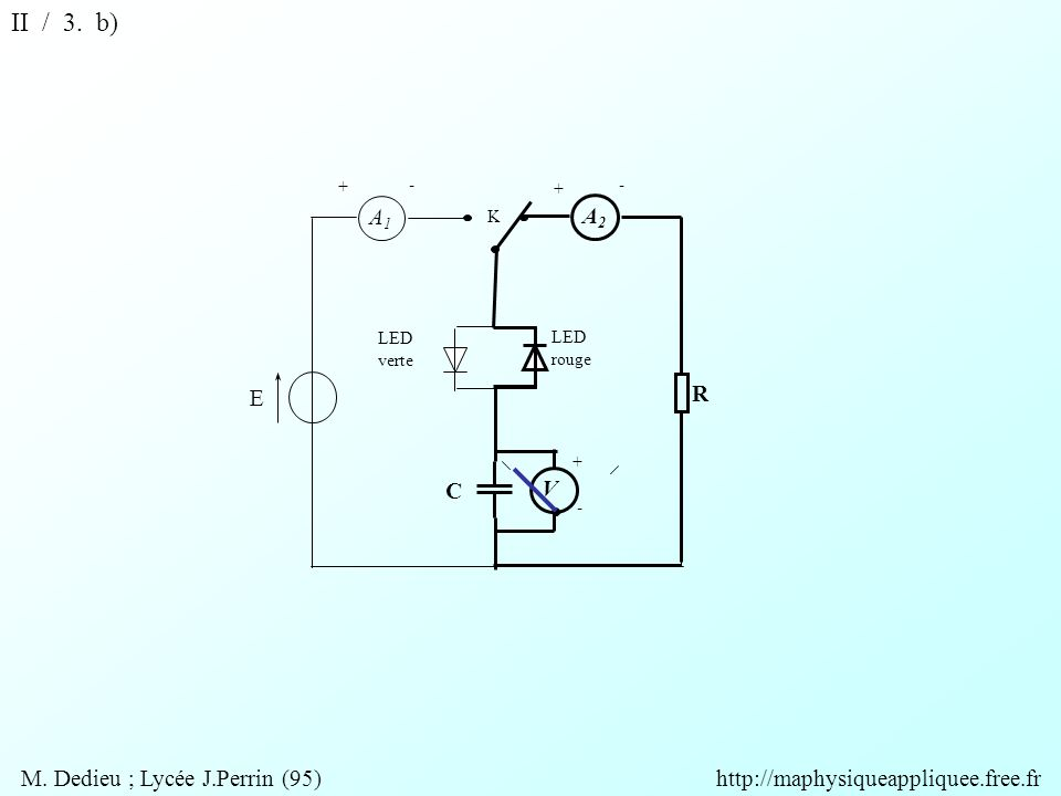V A2A2 A1A1 R + + + - - - K E C LED rouge LED verte II / 3.