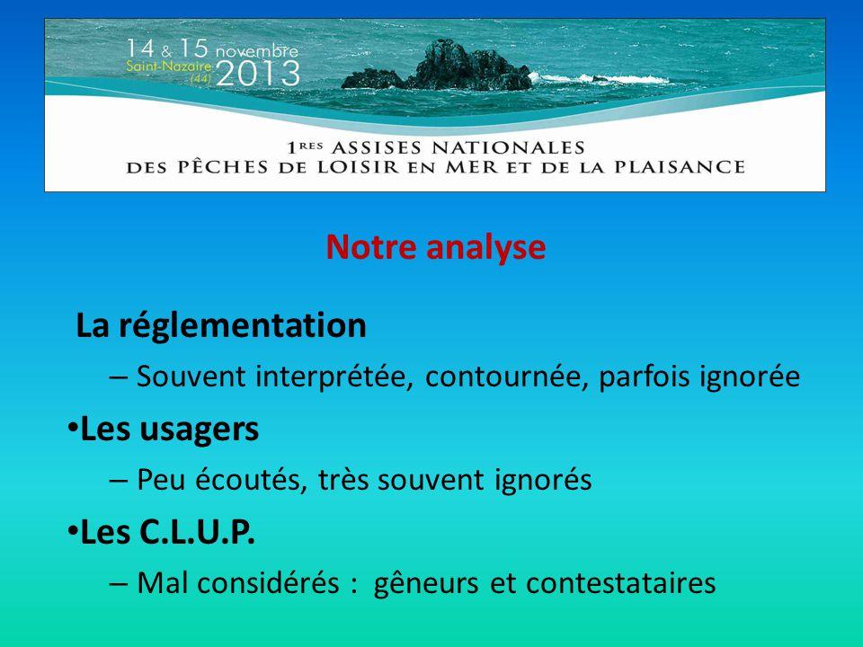Notre analyse • Les conseils portuaires – La participation des usagers réduit à une simple figuration.