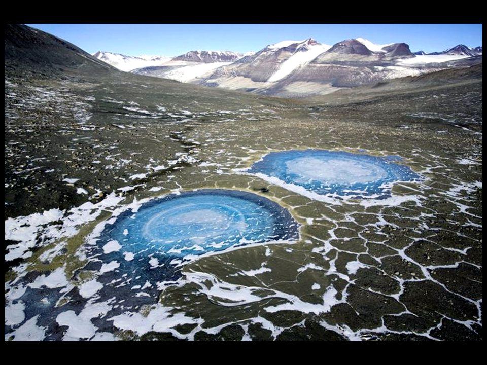 Les vallées sèches de l'Antarctide, avec leurs sols stériles composé de gravier dispersé, sont l'endroit de la terre le plus semblable aux fonds marin
