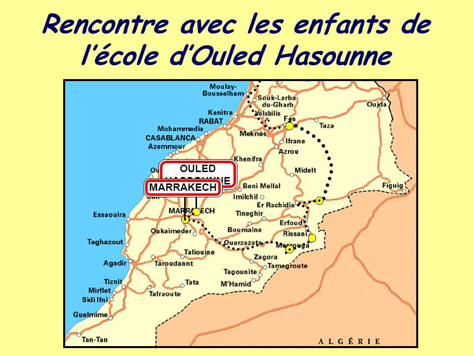 Rencontre avec les enfants de l'école d'Ouled Hasounne OULED HASSOUNNE MARRAKECH