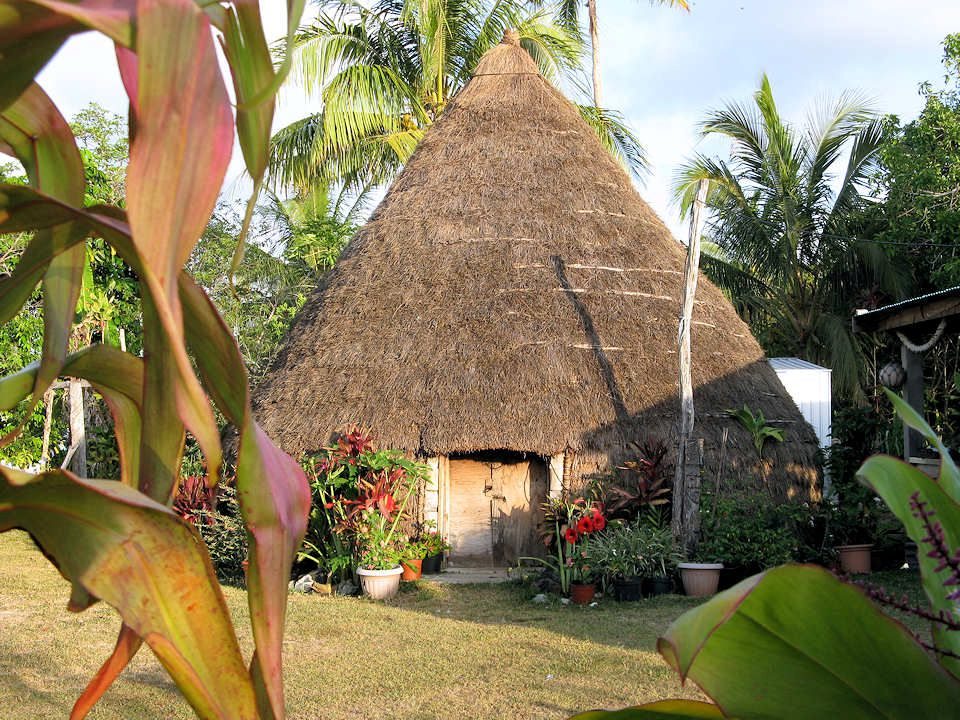 Les totems sont présents à l'entrée des villages dans lesquels vivent des tribus.