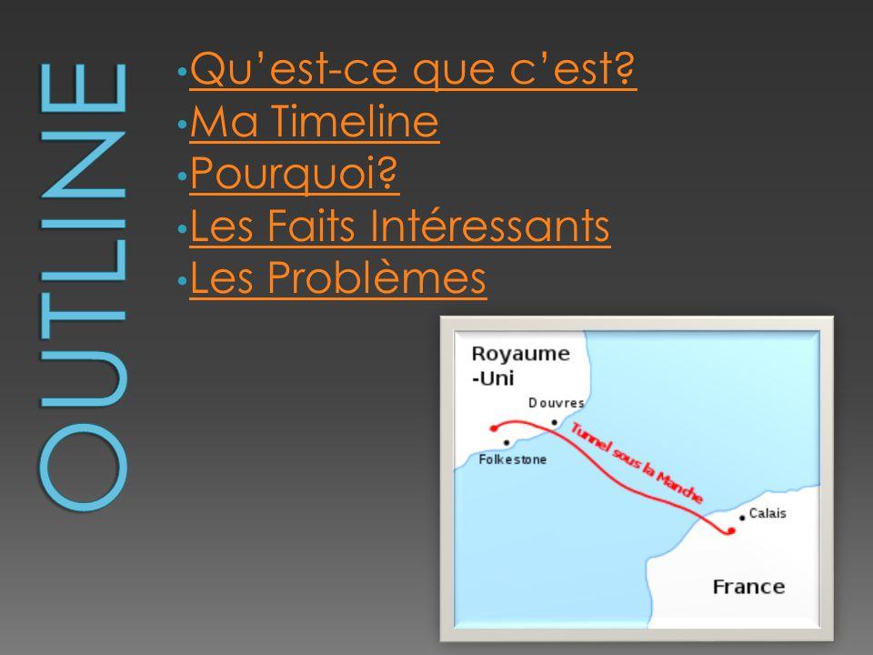 • Le tunnel sous la Manche est un tunnel reliant le sud-est du Royaume- Uni et le nord de la France.