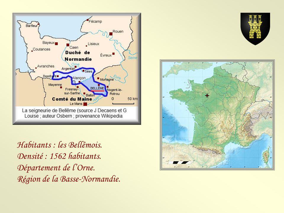 Habitants : les Bellêmois.Densité : 1562 habitants.