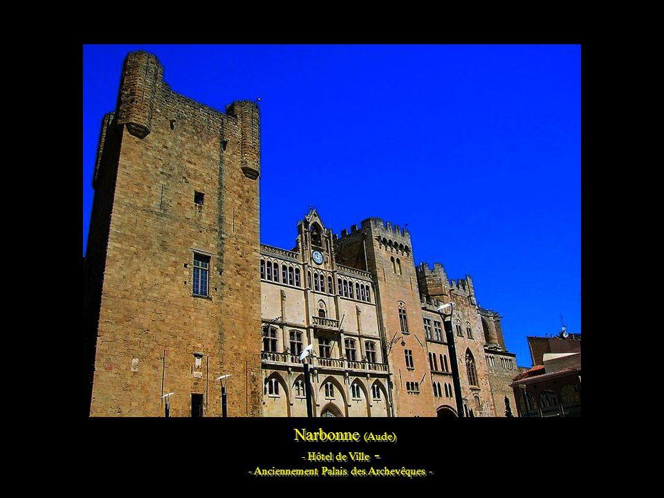 Narbonne et la cathédrale Saint-Just (Aude)