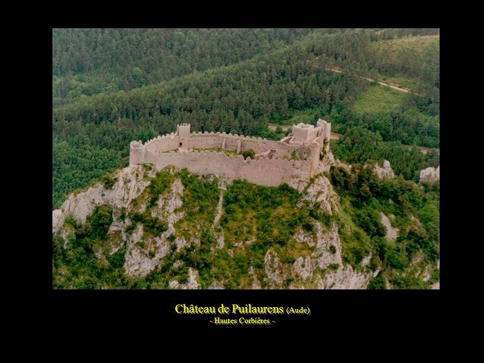 Les Hautes Corbières vues du château de Quéribus (Aude)