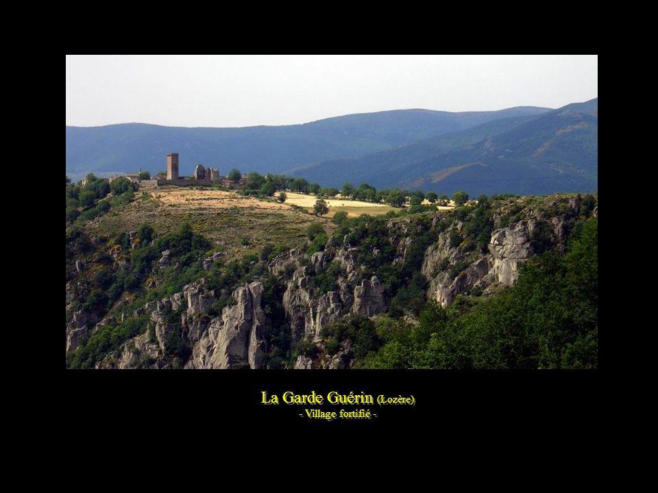 Les gorges de Sainte-Enimie (Lozère)