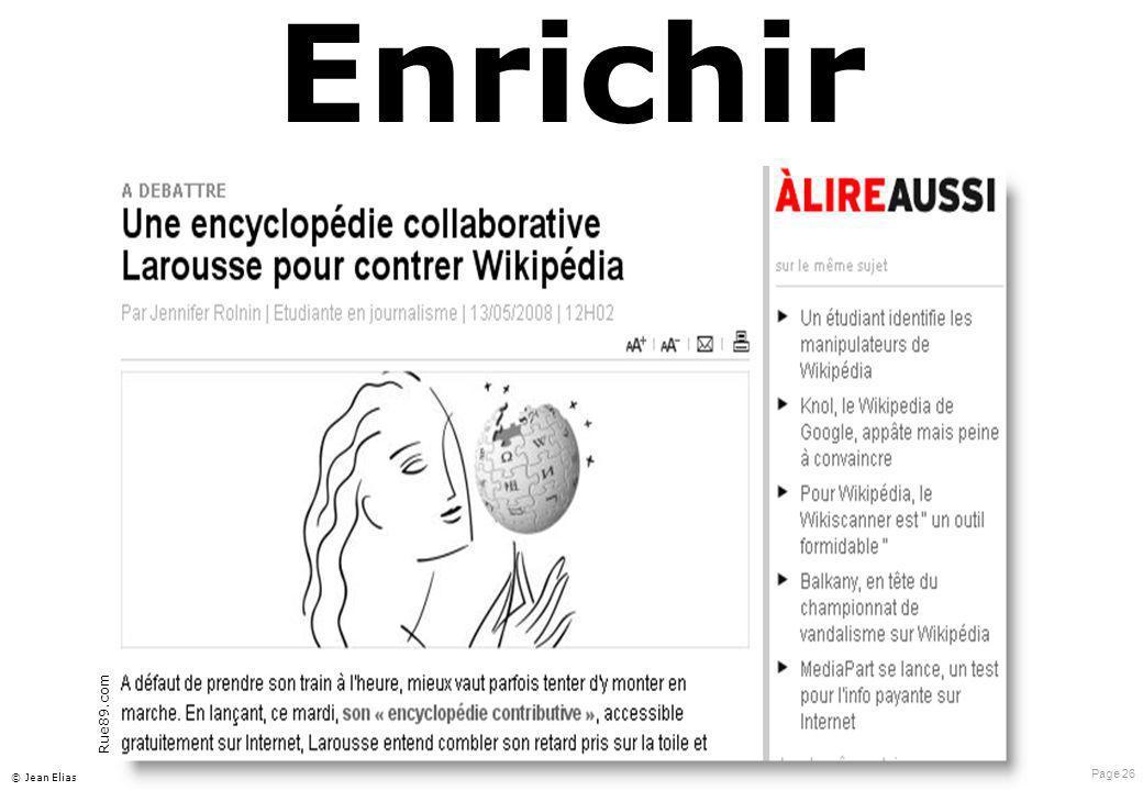 Page 26 © Jean Elias Enrichir Rue89.com