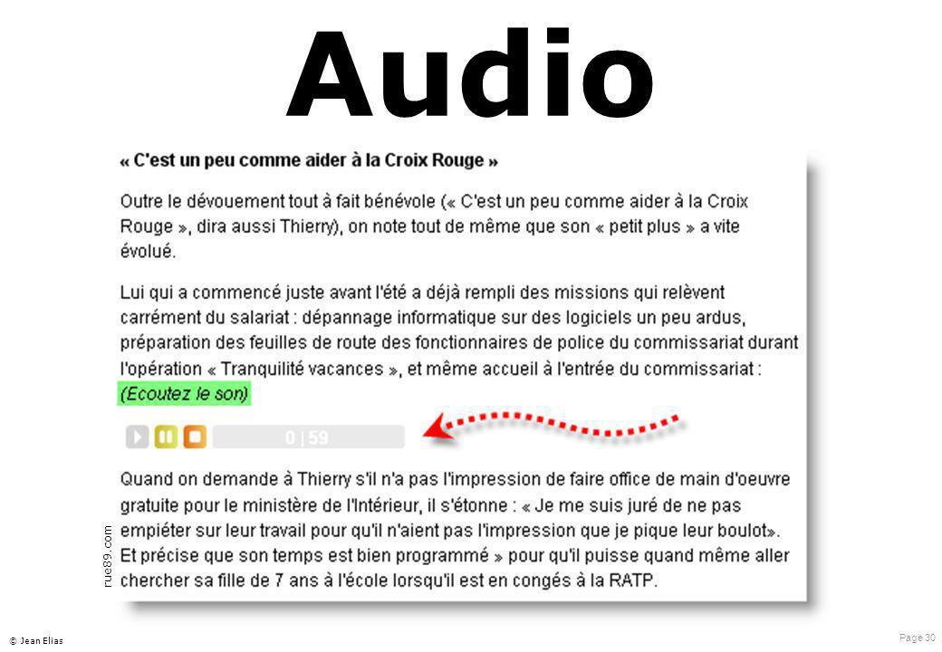 Page 30 © Jean Elias Audio rue89.com