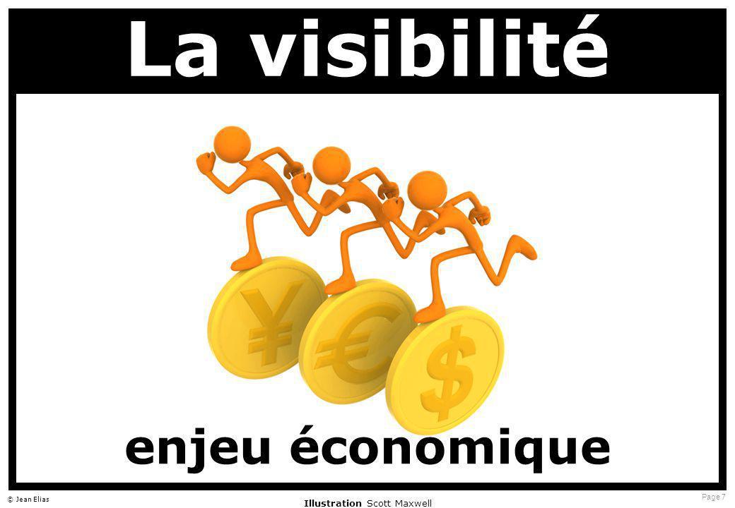 Page 7 © Jean Elias La visibilité enjeu économique Illustration Scott Maxwell