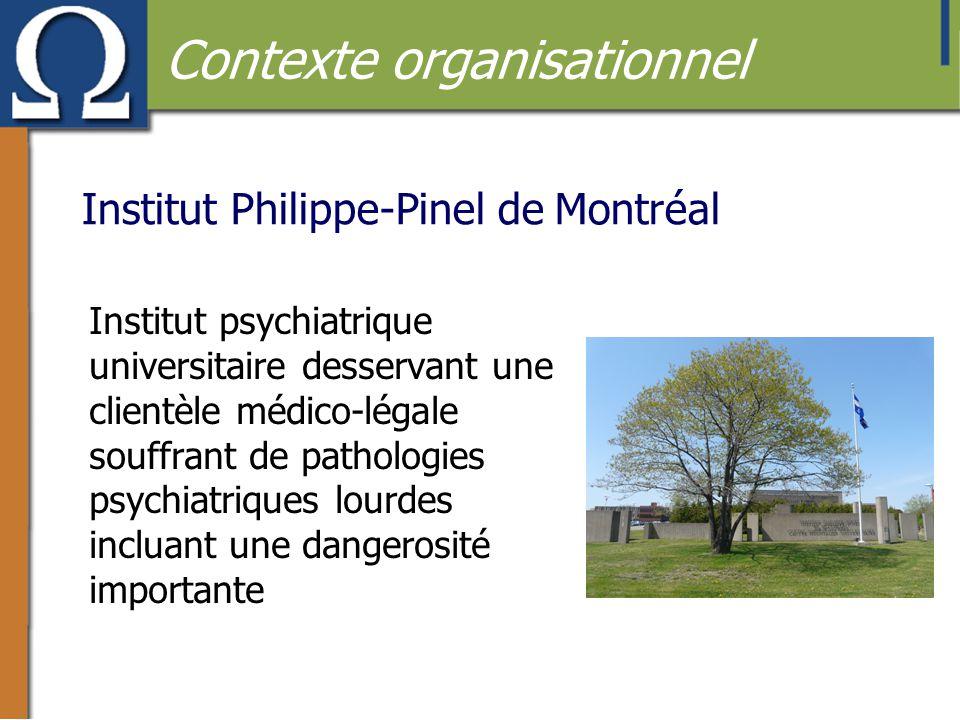 Institut Philippe-Pinel de Montréal Institut psychiatrique universitaire desservant une clientèle médico-légale souffrant de pathologies psychiatrique