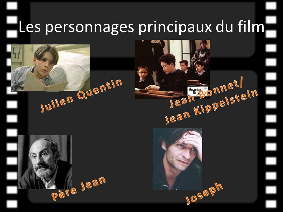 Les personnages principaux du film