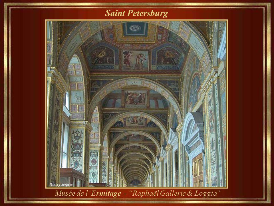 Saint Petersburg Musée de l' Ermitage - la vieille bibliothèque d' origine