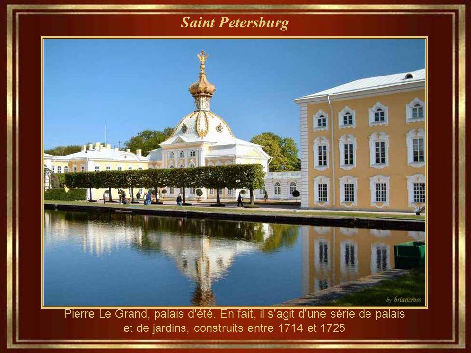 Saint Petersburg Cathédrale Notre-Dame de Kazan (1810-1811), la cathédrale principale de la métropole de Saint-Pétersbourg