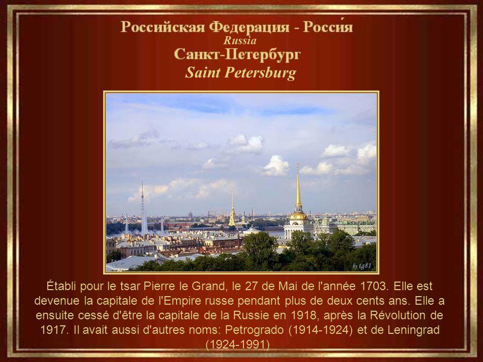 Automatique... St- Petersburg Saint - Petersbourg Musique: The Boston Pops Orchestra Bien que nos musiciens ne soient pas Russes, Cette musique est de
