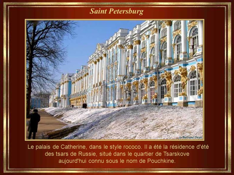 Saint Petersburg La résurrection de Christ Church (connu sous le nom de l'Eglise du sang de Notre-Sauveur)