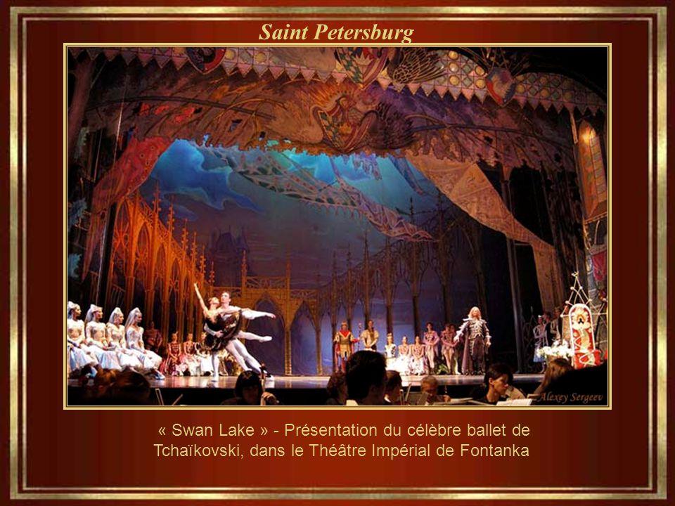 Saint Petersburg Théâtre Mariinsky – réellement joli