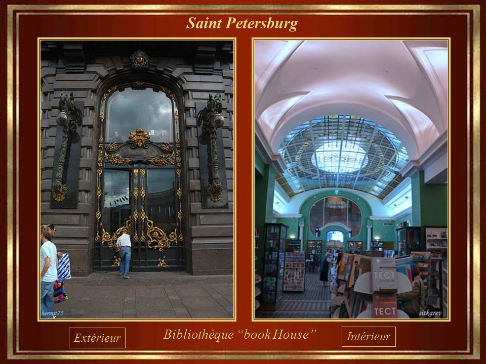 Saint Petersburg Bibliothèque