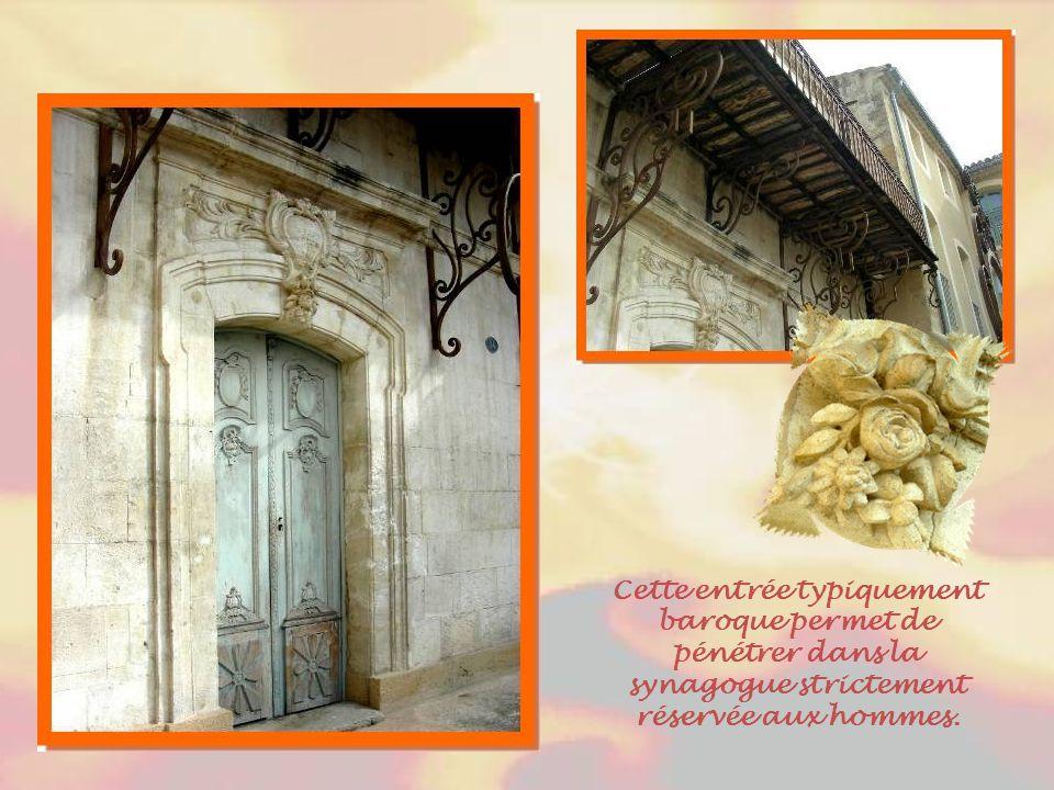 Les quartiers réservés aux juifs se nommaient dans chaque ville du Comtat Venaissin « la Carrière ».