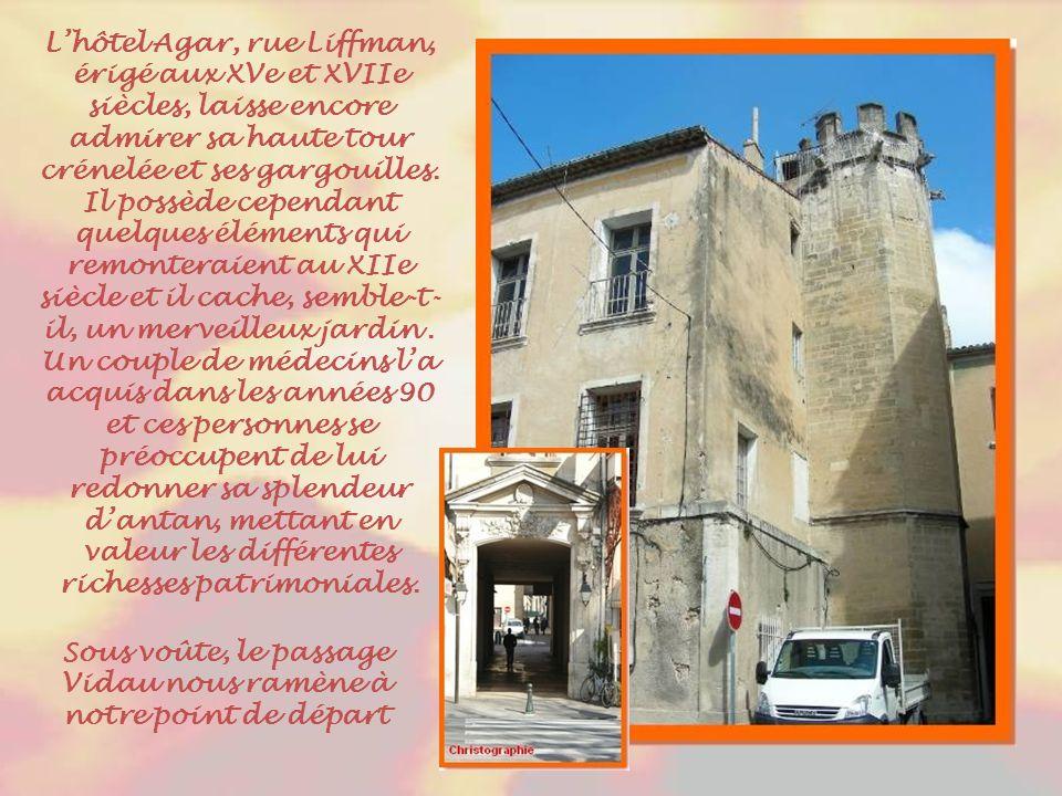 Un dernier regard vers la cathédrale en traversant l'ancienne place de l'Evêché maintenant, place Cabassole.