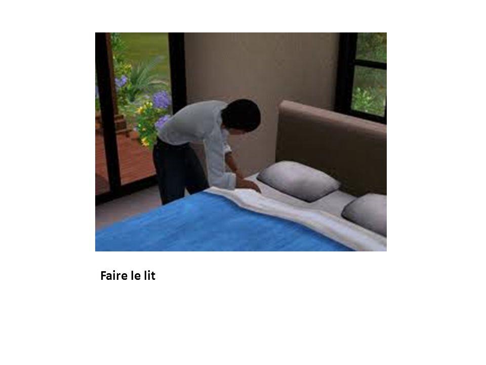 Faire le lit