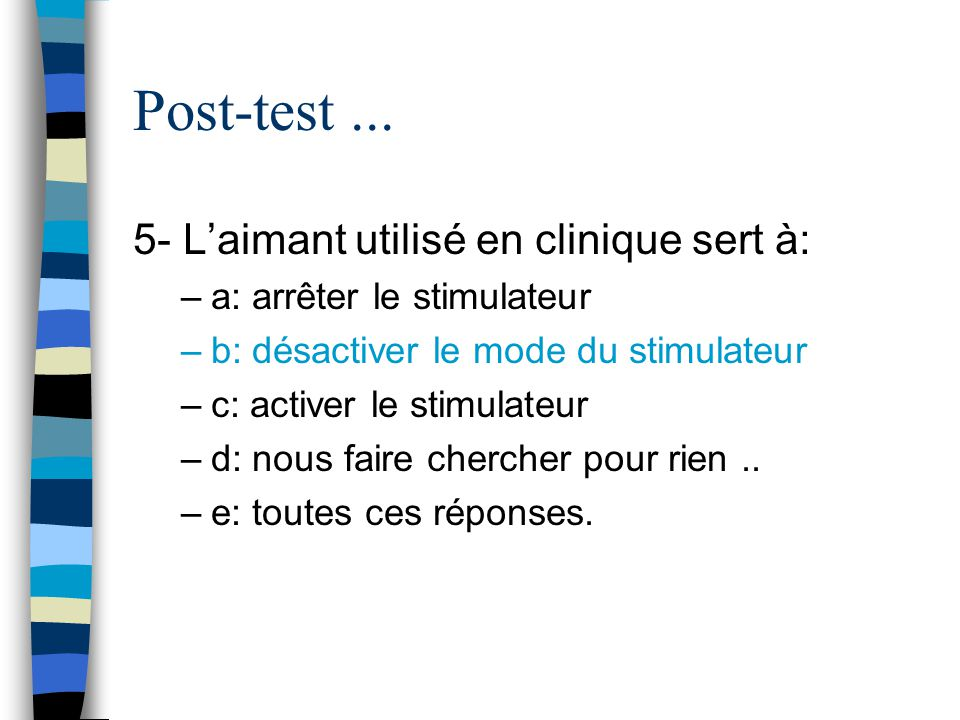 Post-test...