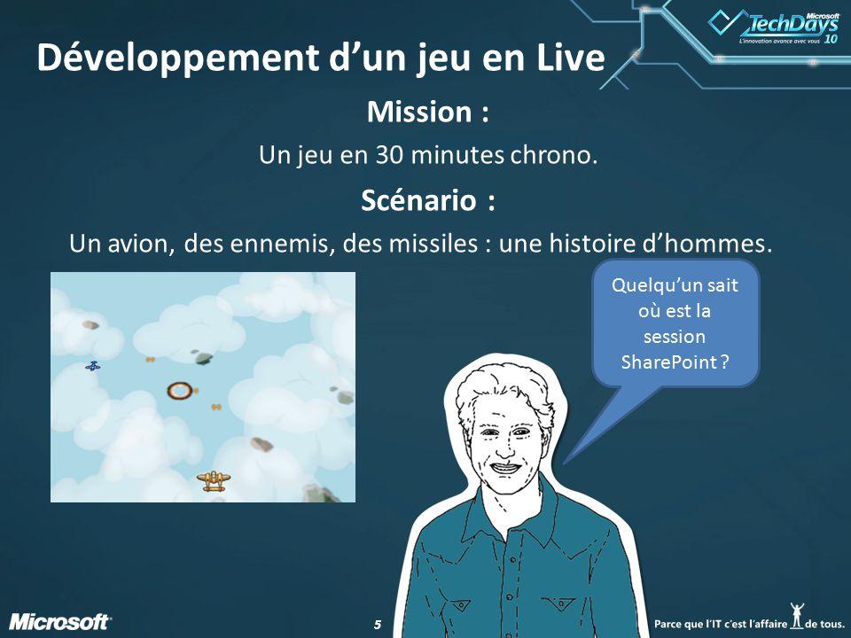 55 Développement d'un jeu en Live Mission : Un jeu en 30 minutes chrono.
