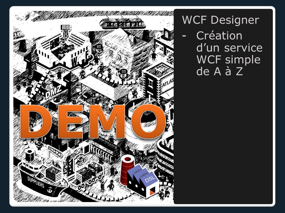 WCF Designer -Création d'un service WCF simple de A à Z