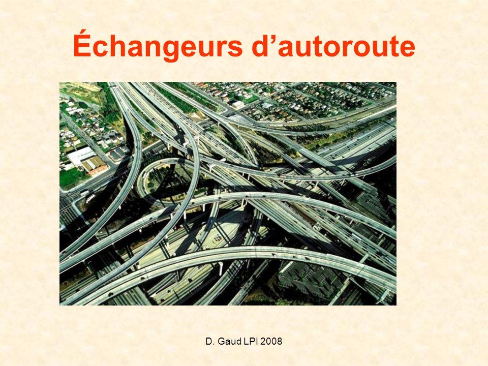 D. Gaud LPI 2008 Échangeurs d'autoroute