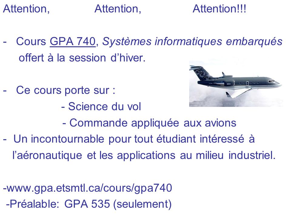 Attention, Attention, Attention!!.