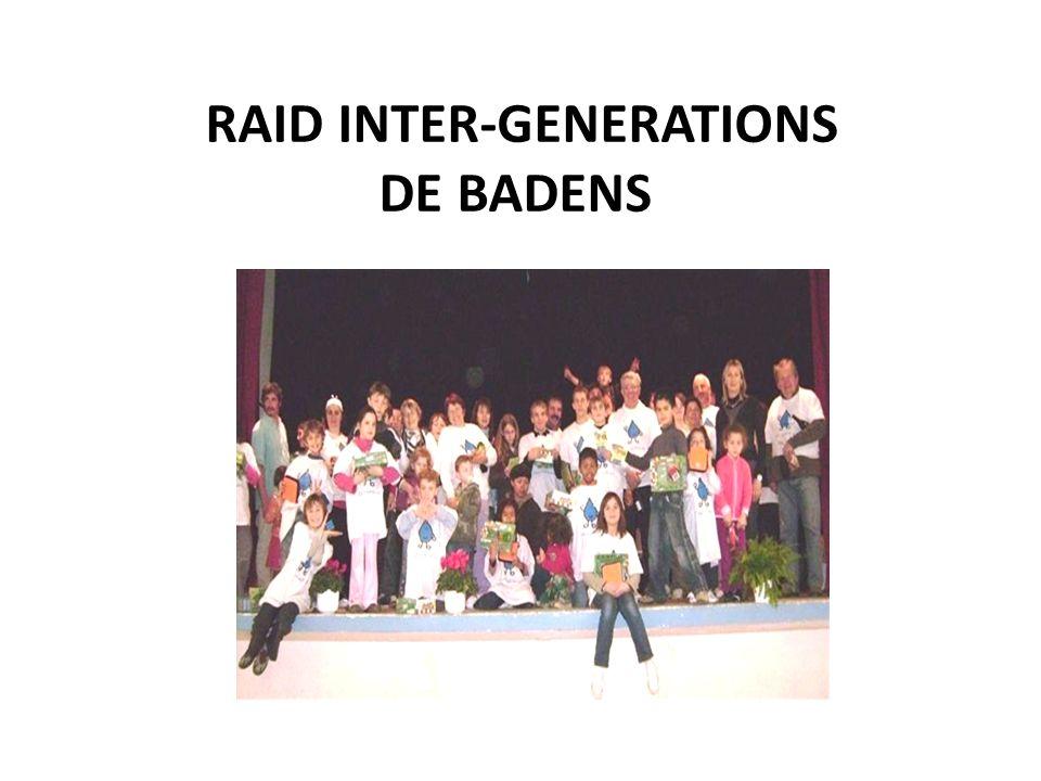 RAID INTER-GENERATIONS DE BADENS ee