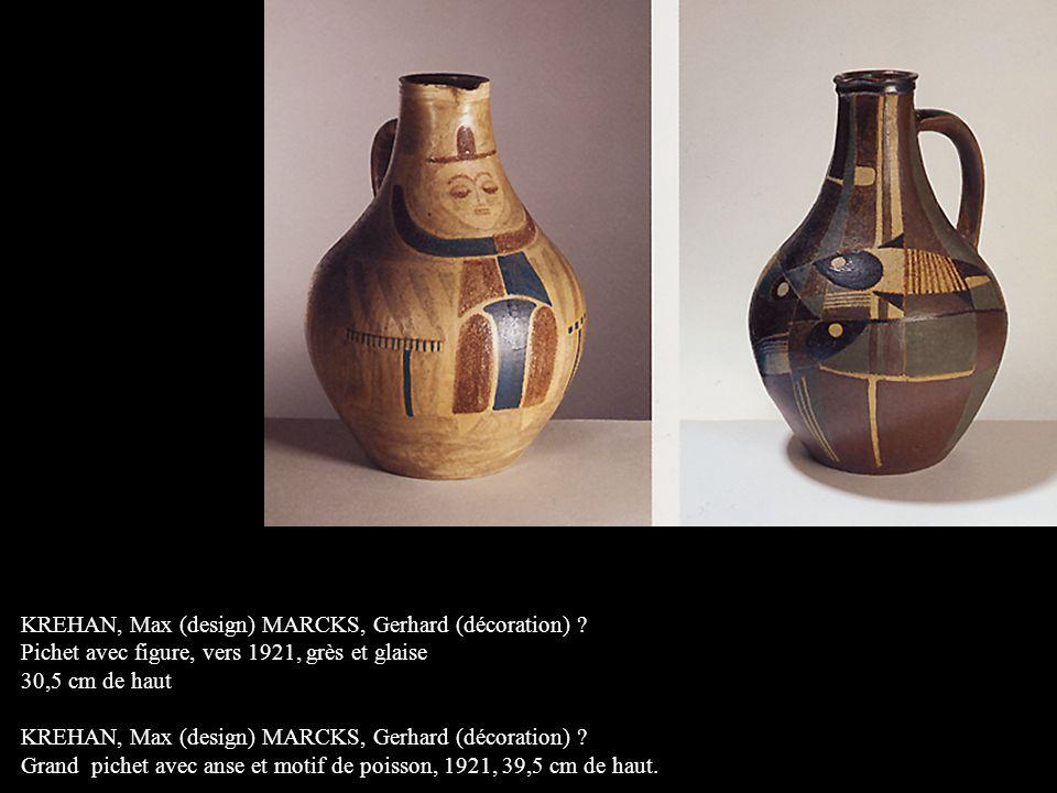 KREHAN, Max (design) MARCKS, Gerhard (décoration) .