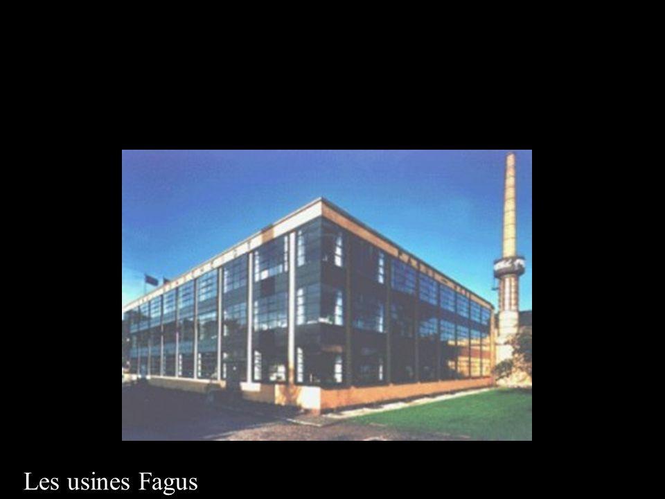 Les usines Fagus