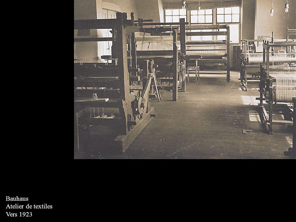 Bauhaus Atelier de textiles Vers 1923