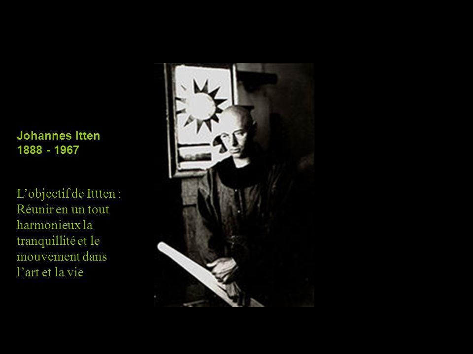 ALBERS, Joseph (1888-1976) B and P 1937 Huile, bois 23 3/4 x 23 3/4 pouces Guggenheim Museum, New York