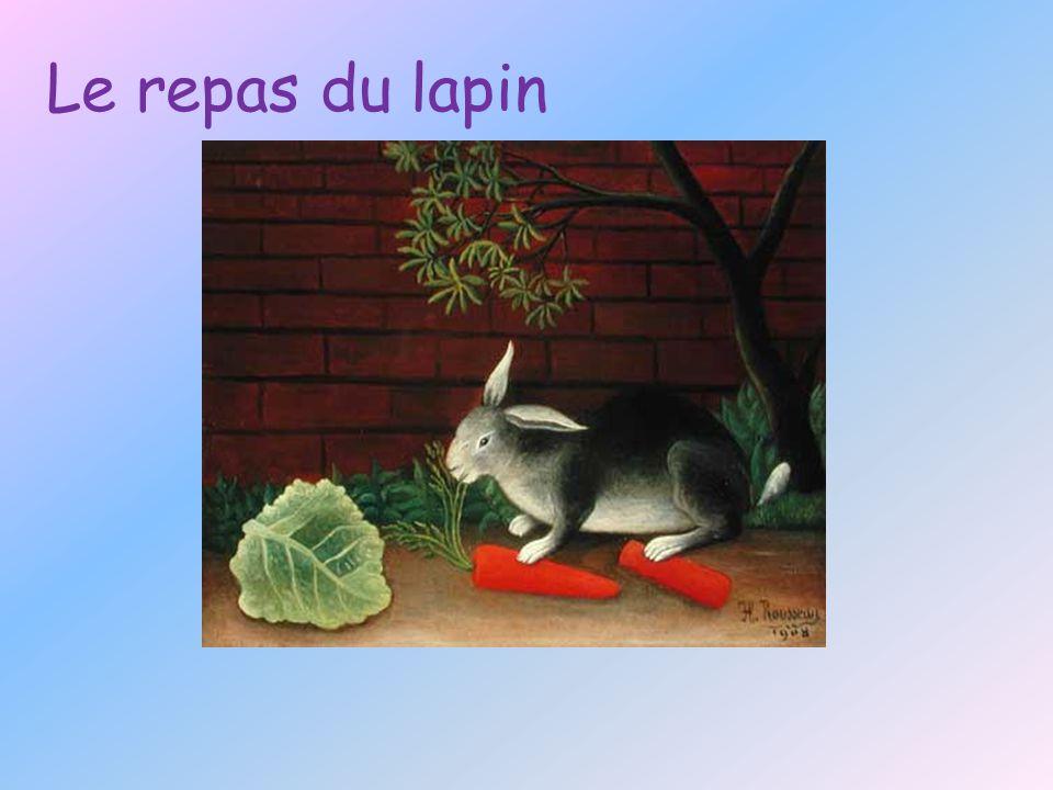 Le repas du lapin